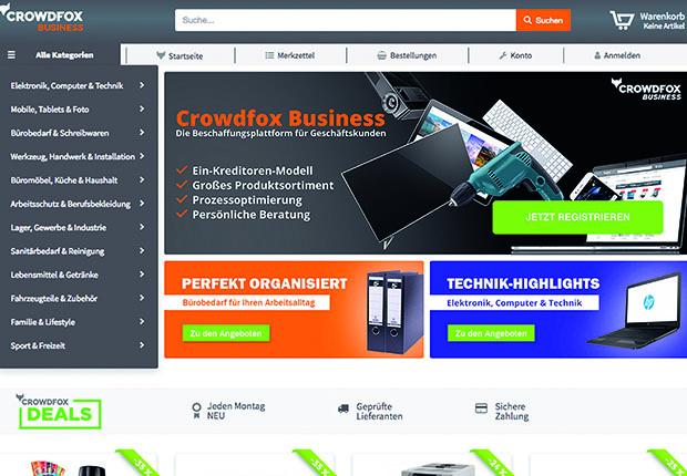 Crowdfox und Crowdfox Business sind technologisch einzigartige Verkaufs- bzw. Beschaffungsplattformen.