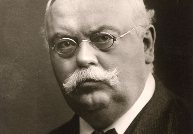 Portraitfoto Firmengründer Dr. August Oetker
