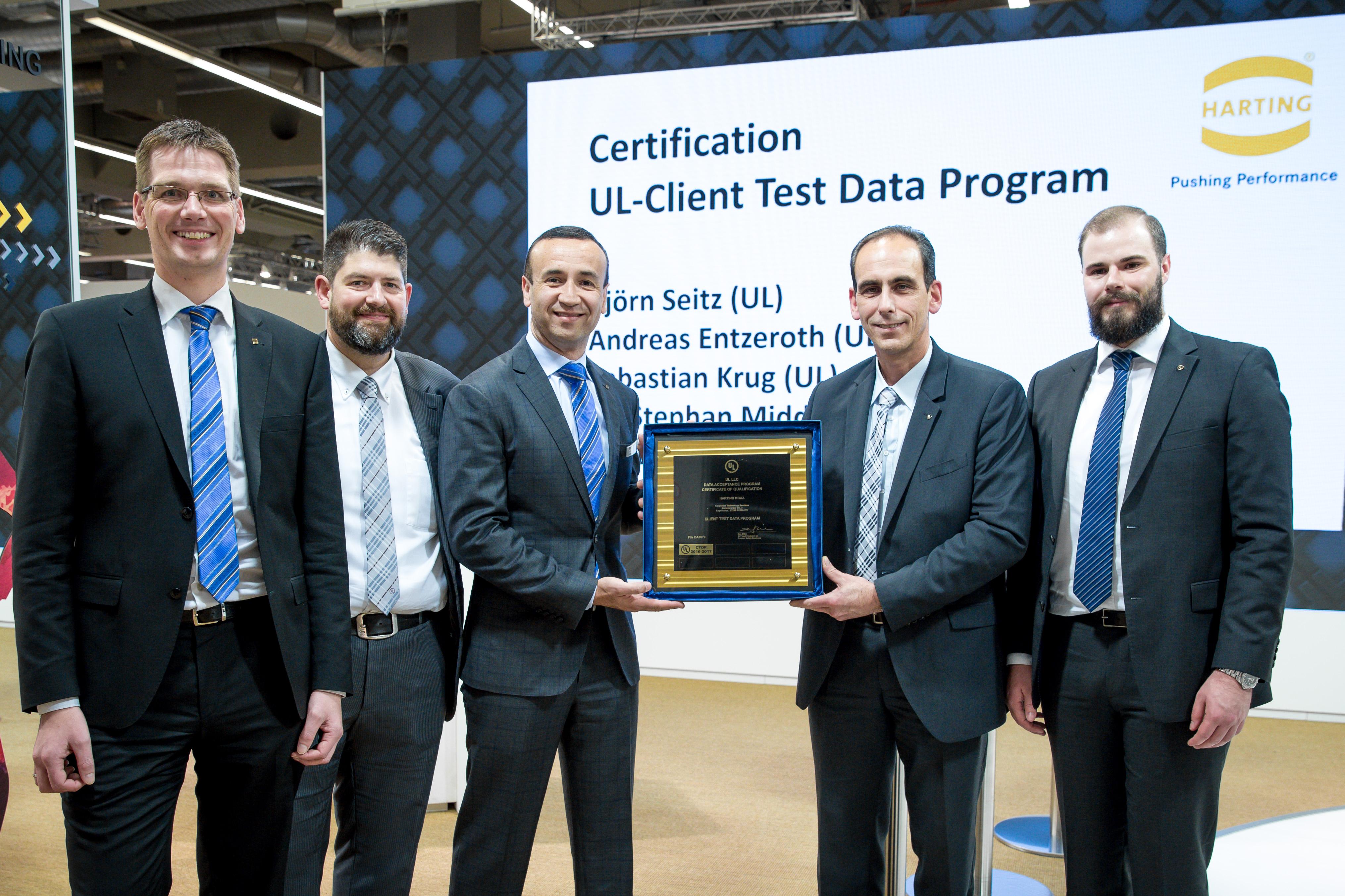 Die neue UL-Zertifizierung macht das Testen von Mustern im eigenen Prüflabor möglich (Foto: HARTING Technologiegruppe)