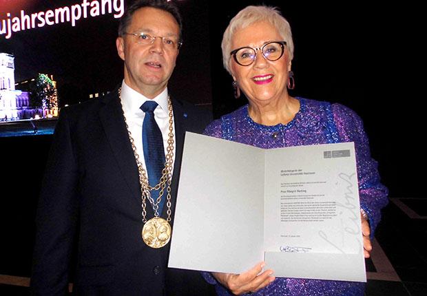 Große Würdigung für Margrit Harting