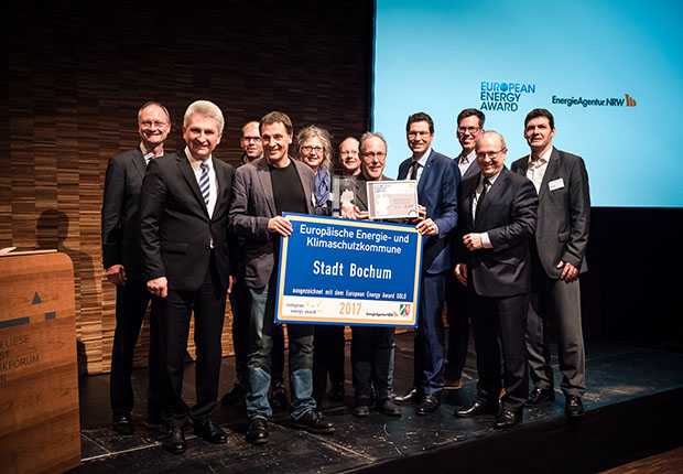 Bochum gewinnt erneut European Energy Award