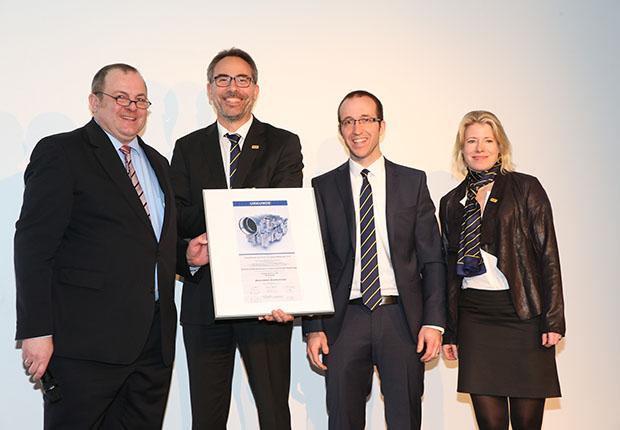 Die Preisverleihung fand im Rahmen der Fachmesse Euroguss in Nürnberg statt.