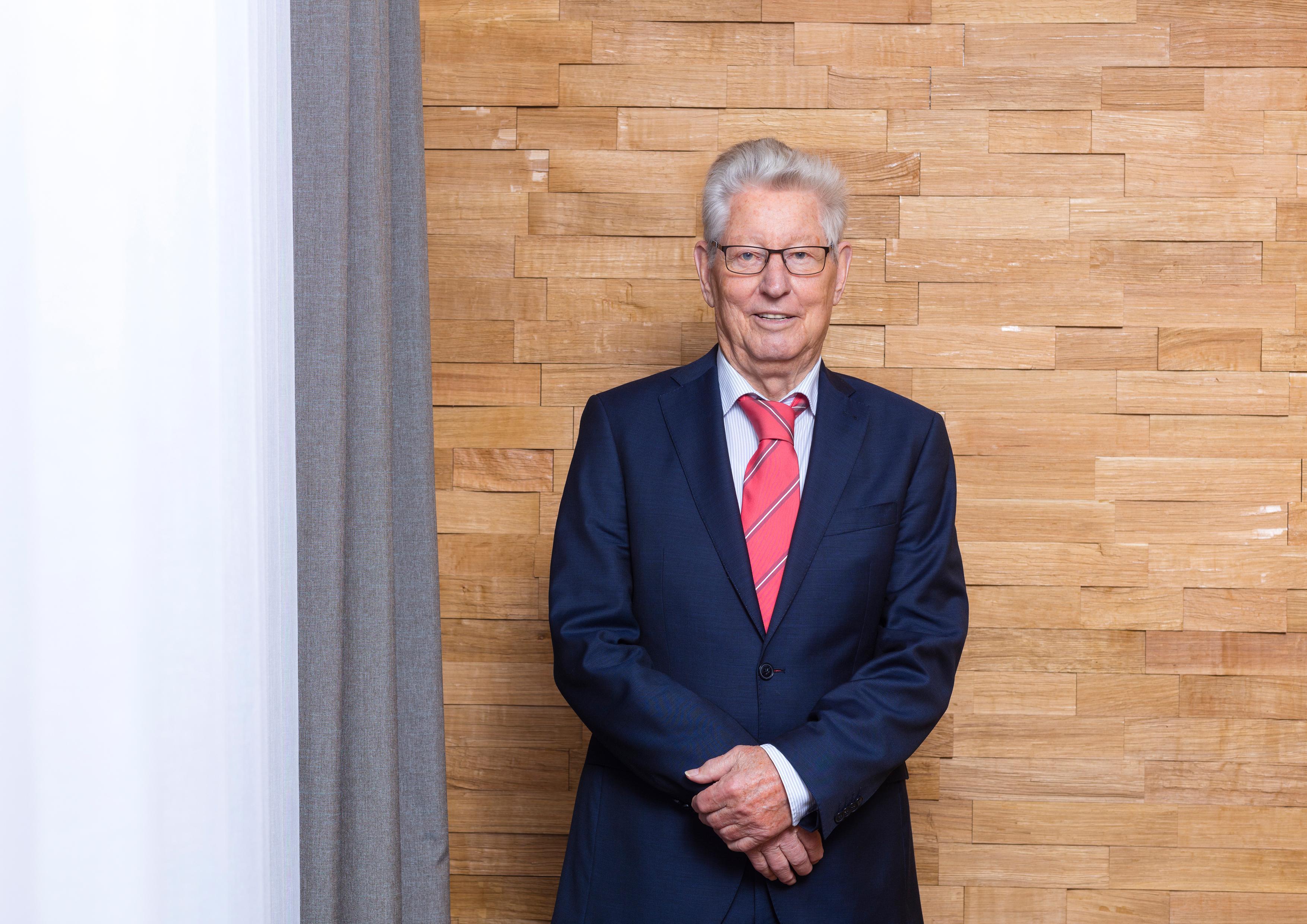 Johann Hoff, Gründer von Firmengründer Johann Hoff von HOFF und Partner, ist verstorben (Foto: HOFF und Partner)