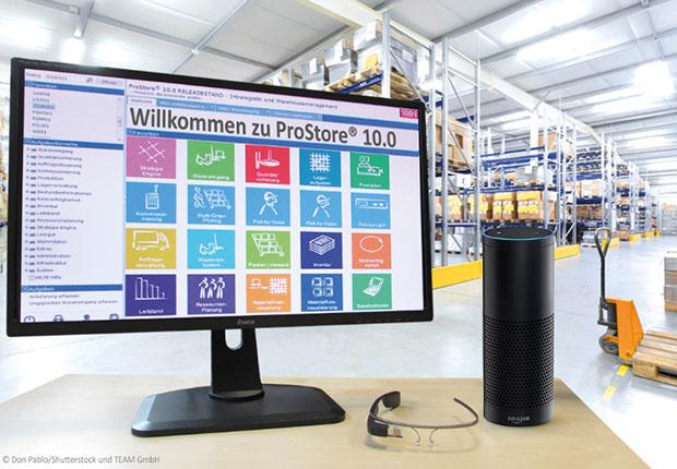 TEAM GmbH mit anspruchsollven Logistik 4.0 Konzepten