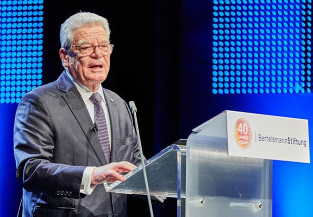 Der diesjährige Reinhard Mohn Preis geht an den früheren Bundespräsidenten Joachim Gauck.