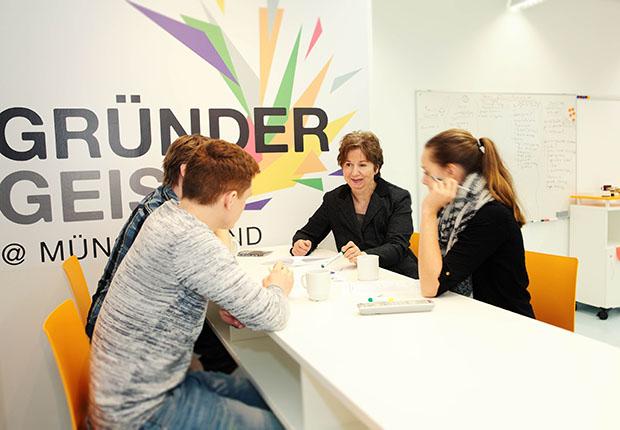 Die von der TFM betriebene Gründerschmiede ist Teil des dreijährigen Verbundprojekts Gründergeist@Münsterland.