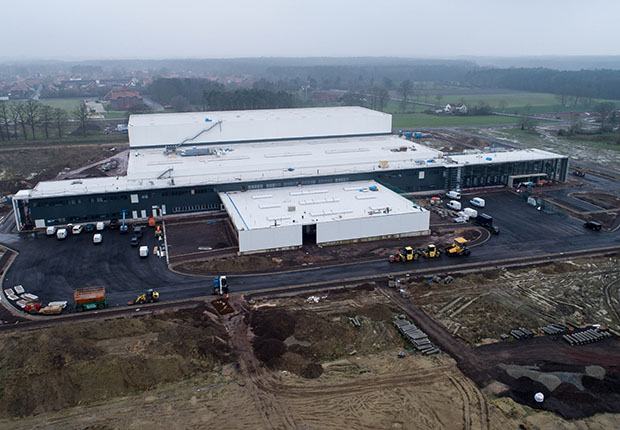 "HARTING Logistikzentrum ""European Distribution Center (EDC)"""