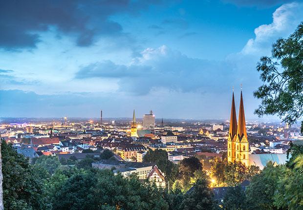 Starke Wirtschaftslage in Stadt und Region als Hauptgrund der vielen Übernachtungen in Bielefeld.