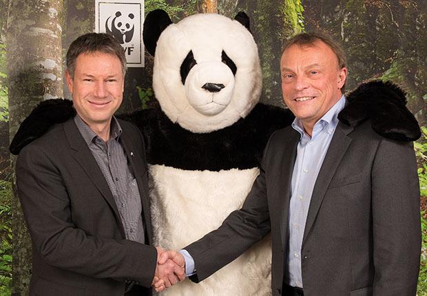 Tönsmeier wird finanzielle Unterstützung des WWF erhöhen.