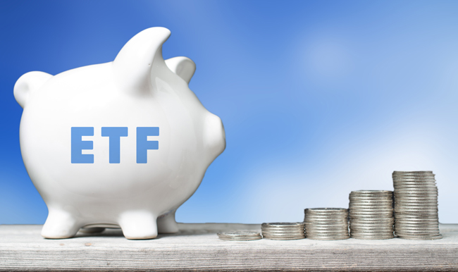 ETF Investment Konzept