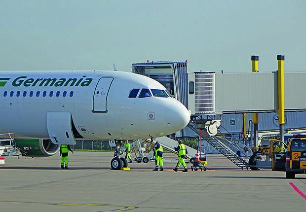 Germania mit mehr Kapazitäten am FMO