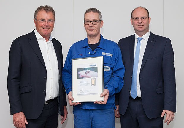 Guido Hoedt ist seit 25 Jahren dem Spezialisten für Umweltschutz und Sicherheit im Betrieb treu.