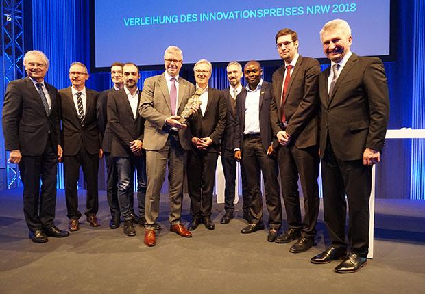 Das Hengst Team freute sich über den Innovationspreis.