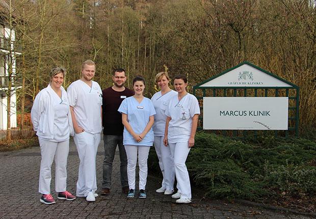 Marcus Klinik - Kooperation mit Pflegeschülern aus Paderborn erfolgreich in den Gräflichen Kliniken Bad Driburg umgesetzt