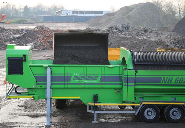 Maschine aus Neuenhausers Trommelsiebserie NH 6020