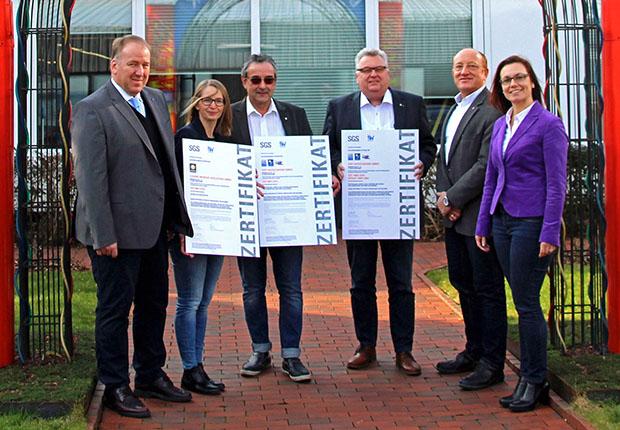 Die drei Unternehmen der Gauselmann Gruppe sind offiziell für ihr Qualitätsmanagement zertifiziert.