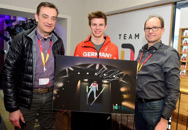 Magische Momente auf den Premiumpapieren der Felix Schoeller Group bei den Olympischen Winterspielen.