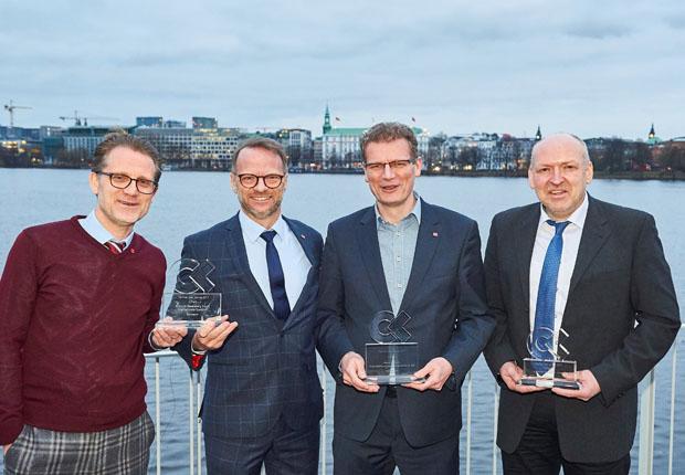 CargoLine-Qualitätsranking Partner des Jahres 2017 die Gewinner. (Foto: Koch International)