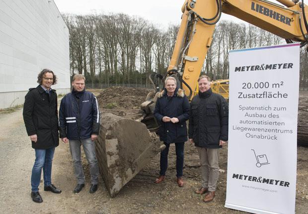 Meyer & Meyer erweitert automatisiertes Liegewarenzentrum in Osnabrück