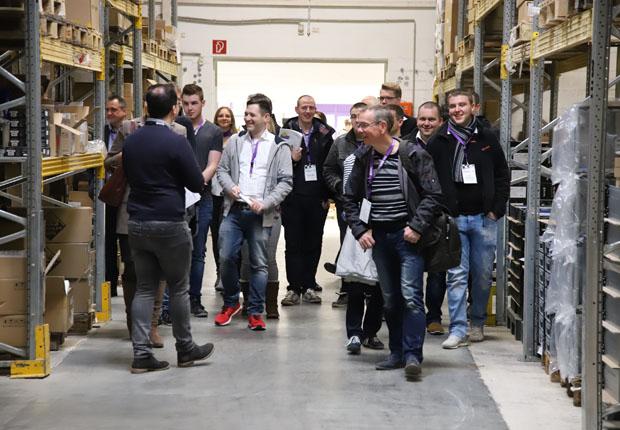 WORTMANN AG lud zum ursprünglichen CeBIT KickOff in die Firmenzentrale. (Foto: WORTMANN AG)