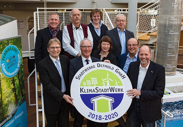 DUH zeichnet Stadtwerke Detmold als KlimaStadtWerk aus