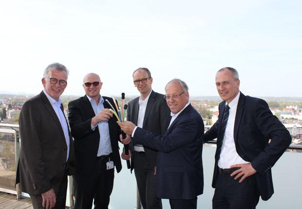 Stadtwerke Bielefeld Gruppe investiert in Ausbau des Glasfasernetzes