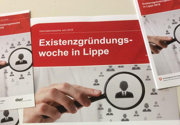 Existenzgründungswoche in Lippe 2018 – Anmeldung ab sofort möglich!