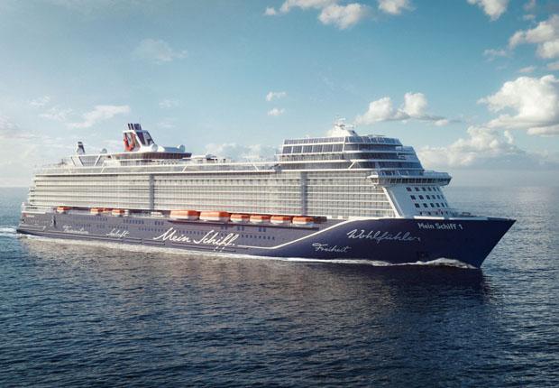 """Auf der """"neuen Mein Schiff 1"""" wird die Gauselmann Gruppe ein CASINO MERKUR MARE im Stil eines Boutique-Casinos eröffnen. (Foto: Gauselmann AG)"""