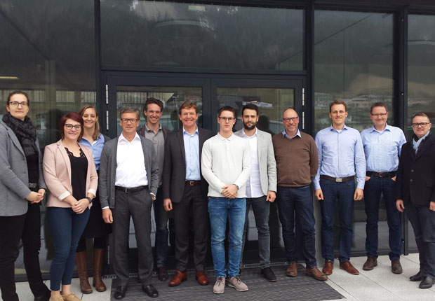 Partnertreffen des Interreg Projektkonsortiums für Nachhaltigkeit in der Verpackungsbranche. (Foto: MULTIVAC)