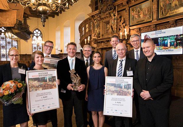 Zweiter Platz beim Deutschen Außenwirtschaftspreis 2018 für Biogasanlagenhersteller WELTEC BIOPOWER. (Foto WELTEC BIOPOWER)