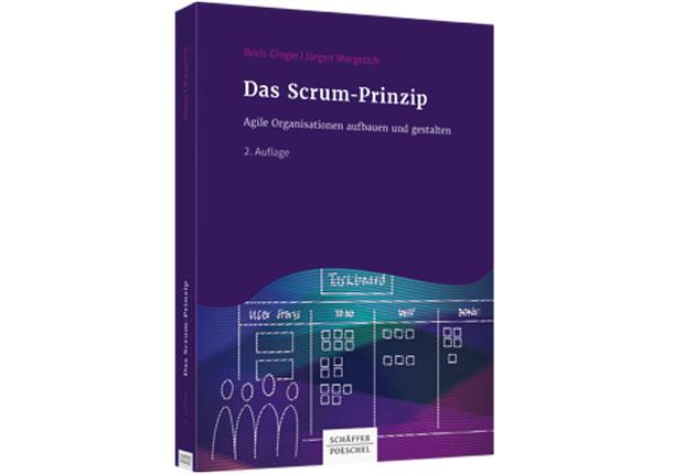 Schäffer-Poeschel Frühjahr 2018: Das Scrum-Prinzip. (Bild: Prospero GmbH)