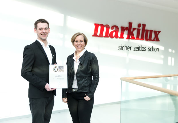 markilux erhält German Design Award 2018