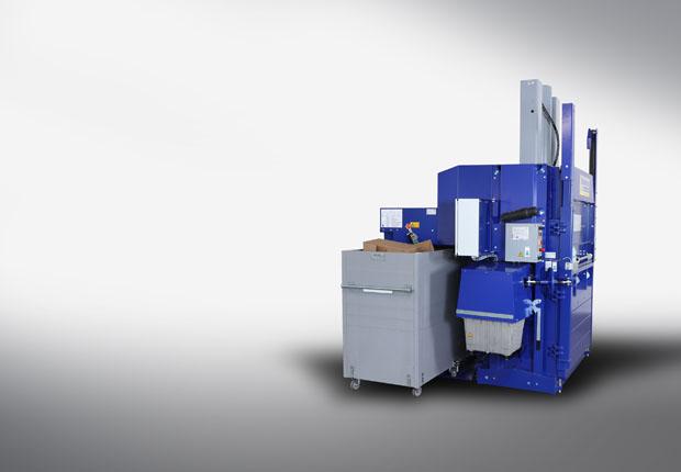 Der Halbautomat AutoLoadBaler - made by Strautmann ermöglicht eine einzigartige Entsorgung die wirtschaftlich und zeitgemäß ist! (Bild: Strautmann Umwelttechnik GmbH)