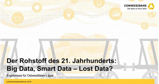 Mittelstand in Ostwestfalen-Lippe lässt Potenzial von Big Data laut Mittelstandsstudie liegen. (Bild: Commerzbank)