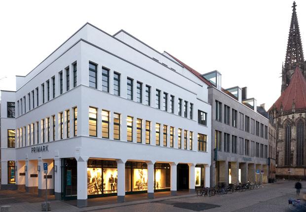 Im Herzen von Münster: Köster realisierte den Teilrückbau und Neubau des ehemaligen Sinn-Leffers-Geschäftshauses. (Foto: Köster GmbH)