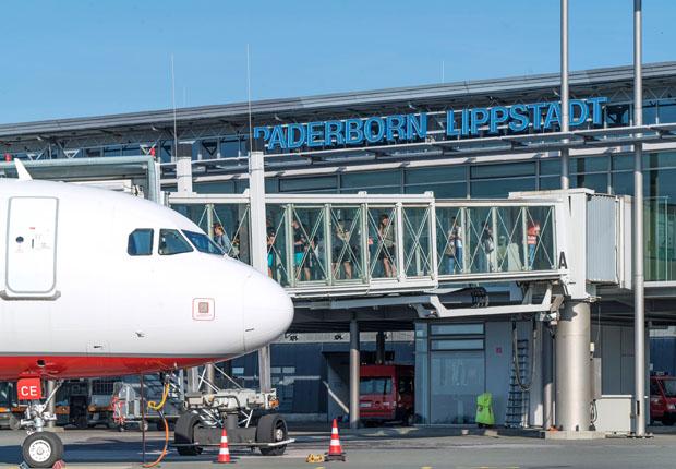 Sommerflugplan startet am Paderborn-Lippstadt Airport