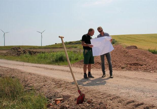 Biogasanlage in Vahldorf ist die größte Einzelinvestition des Spezialisten für schlüsselfertige Biogasanlagen aus Melle (foto: BioConstruct)