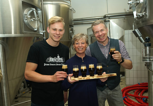 Collaboration Brew: Brauerei Strate mit Braumeister Christian Mönnig