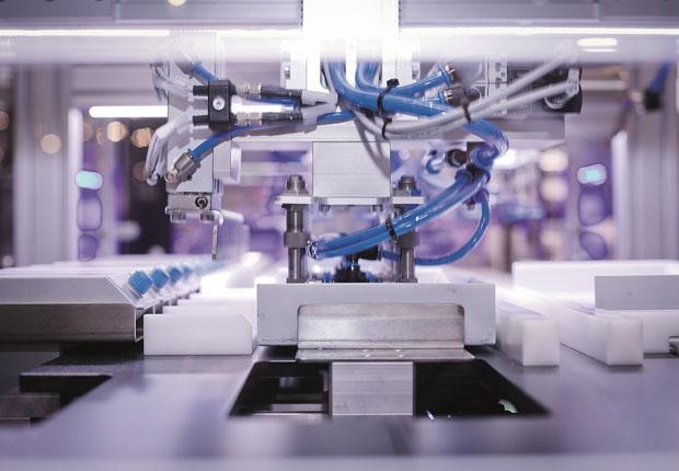Ausblick auf die 14. FMB – Zuliefermesse Maschinenbau. Automatisierungstechnik wieder stärkste Fraktion. (Foto: FMB)