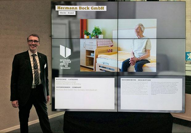 Hermann Bock GmbH erhält German Brand Award 2018