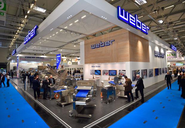 Schendel & Pawlaczyk realisiert Messestand für Weber Maschinenbau