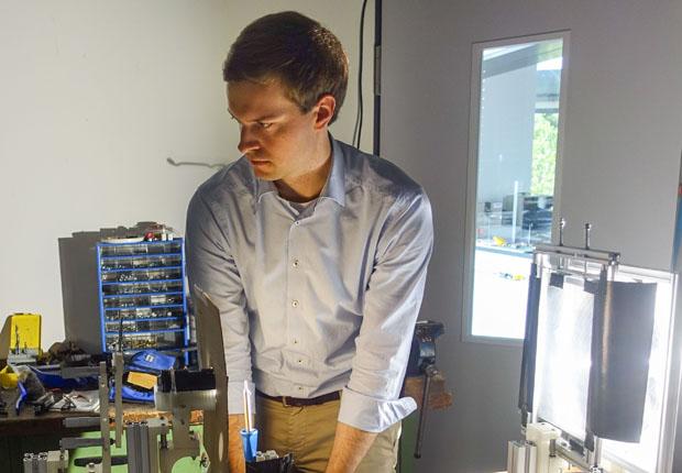 Maximilian Paßmann von FH Münster – Auszeichnung auf Turbo Expo