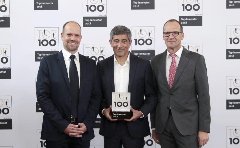 Erfolg bei TOP 100: BaSys aus Kalletal gehört zu den Innovationsführern 2018
