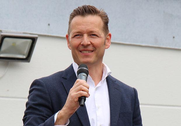 Buschjost Geschäftsführer Oliver Wehking freute sich über den regen Zulauf beim Tag der offenen Tür. (Foto: Buschjost)