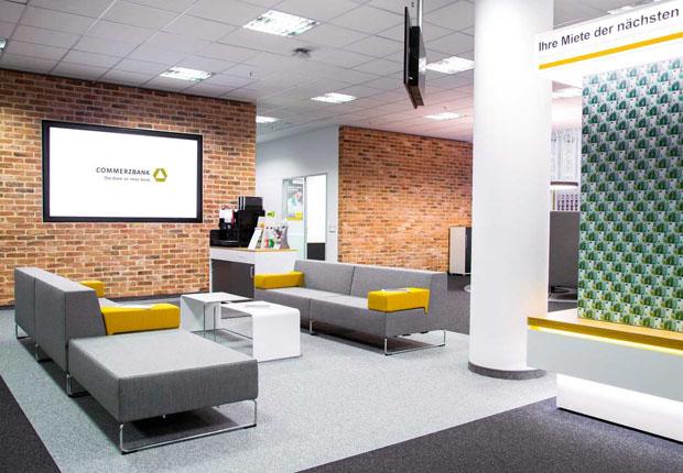Filiale der Commerzbank am Jahnplatz wird umgebaut und nach den Herbstferien neu eröffnet. (Foto: Commerzbank)