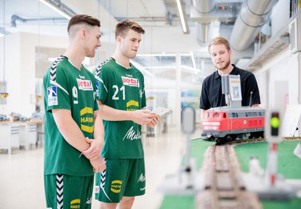 HARTING – U20-Nationalspieler informieren sich im NAZHA