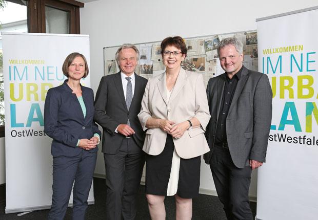 Niedersächsische Ministerin Honé beeindruckt vom UrbanLand