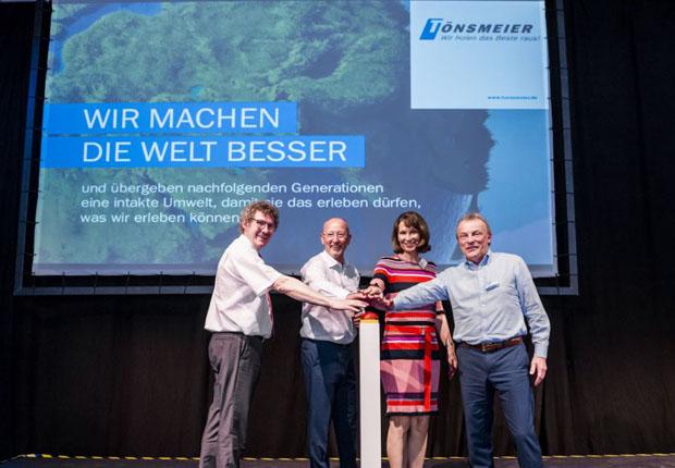 Tönsmeier startet in Hannover neue Sortieranlage für Gewerbeabfälle