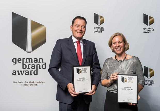 """markilux erneut mit """"German Brand Award"""" ausgezeichnet"""