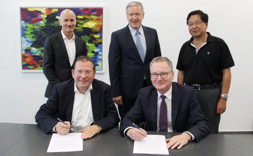 Phoenix Contact und Hannoveraner Messegesellschaft für Industrie 4.0